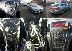 car kit install in a Astra 2013 in the Liverpool area.