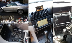 Parrot iPod and Bluetooth car kit install in a BMW 3 series