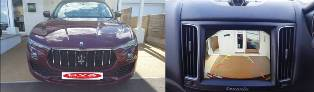 Reversing Camera for my Maserati Levente and Ghibli