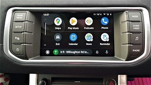 Android Auto for Range Rover Evoque