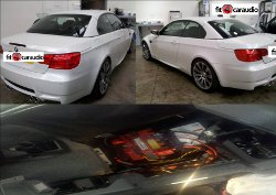 Cat 5 Tracking installation for BMW M3