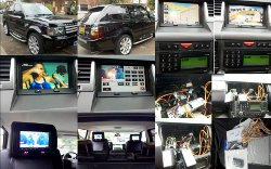 Digital TV and Multimedia Install Range Rover Sport - Denton Manchester