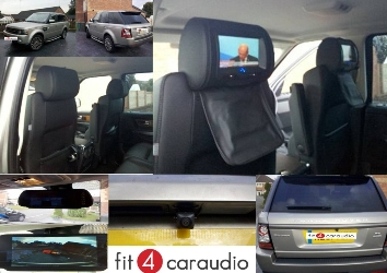 Digital TV for Range Rover and reversing camera. Range Rover Sport 2012